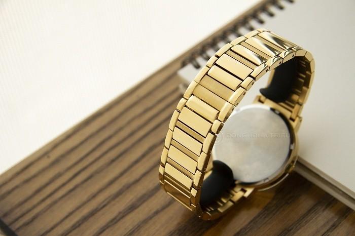 Bulova 97D115: Sản phẩm mạ vàng đính kim cương dành cho nam - Ảnh 3