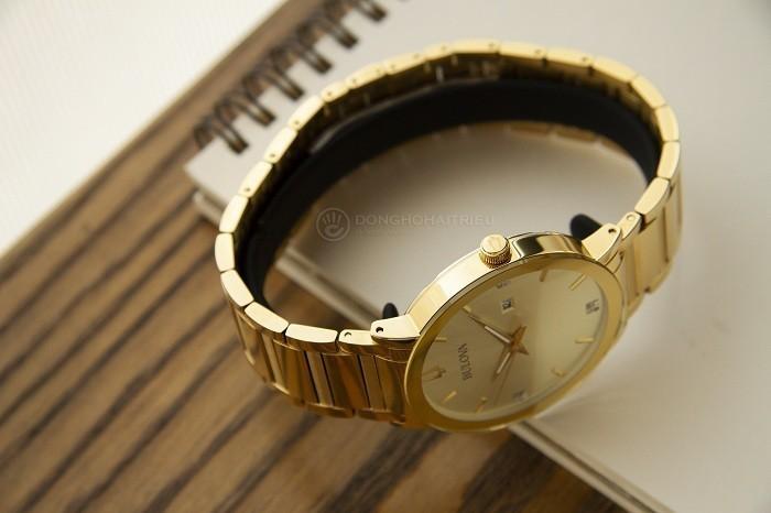 Bulova 97D115: Sản phẩm mạ vàng đính kim cương dành cho nam - Ảnh 4