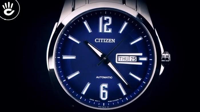 Review đồng hồ Citizen NH7490-55L bơi lội thoải mái (10 ATM) - Ảnh 2