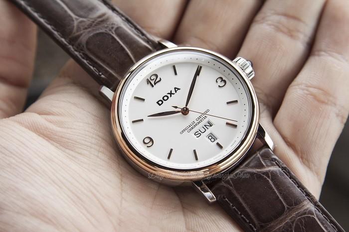 Đồng hồ Doxa D139RWH: Phiên bản giới hạn chỉ có 500 chiếc- ảnh 2