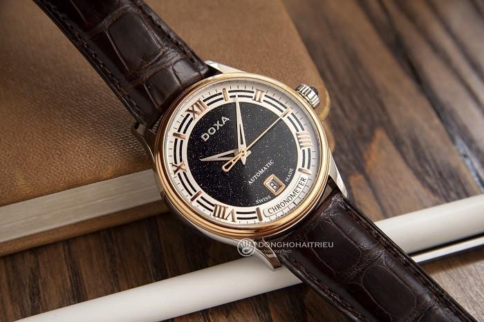 Review đồng hồ Doxa D198RBU nam phiên bản Limited Edition- ảnh 1