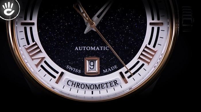 Review đồng hồ Doxa D198RBU nam phiên bản Limited Edition- ảnh 2