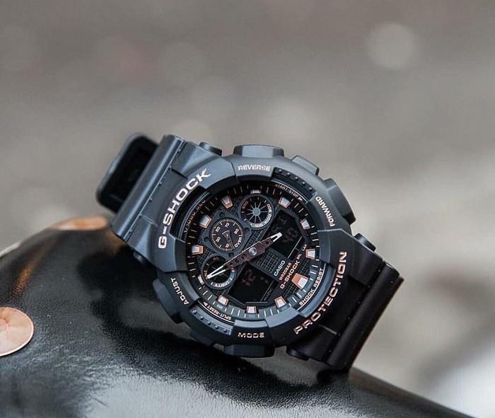 đồng hồ G-Shock GA-100GBX-1A4DR lặn thoải mái (20ATM) - Ảnh 1