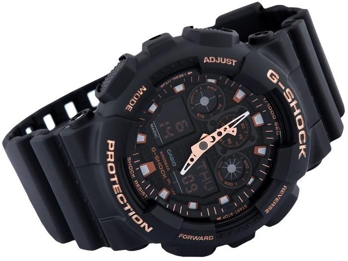 đồng hồ G-Shock GA-100GBX-1A4DR lặn thoải mái (20ATM) - Ảnh 4