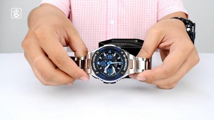 Review đồng hồ G-Shock GST-S100D-1A2DR bộ máy Tough Solar-ảnh 2