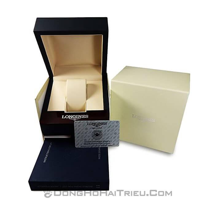 Đồng hồ Longines L4.209.2.32.2 Kính Sapphire, Siêu Mỏng 6