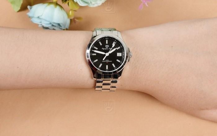 Review đồng hồ OP 58054TLS-D thiết kế dây kim loại tối giản - ảnh 4