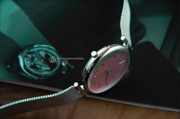 Review đồng hồ Skagen SKW2708 màu hồng nữ tính, quyến rũ - ảnh 4