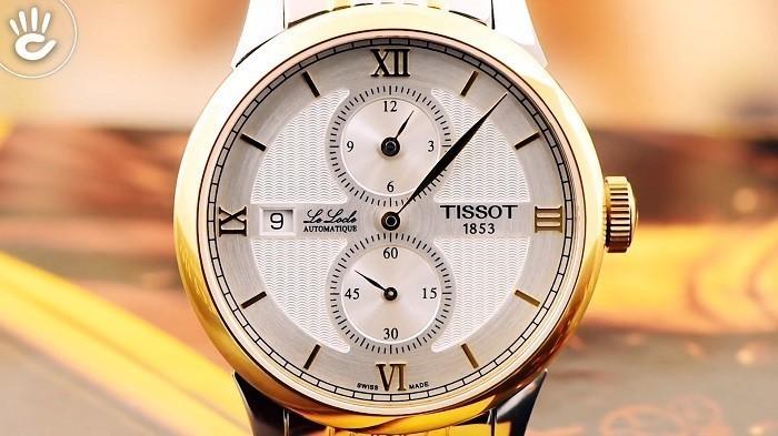 Đồng hồ Tissot T006.428.22.038.02: Bộ kim chỉ không đồng tâm-ảnh 2