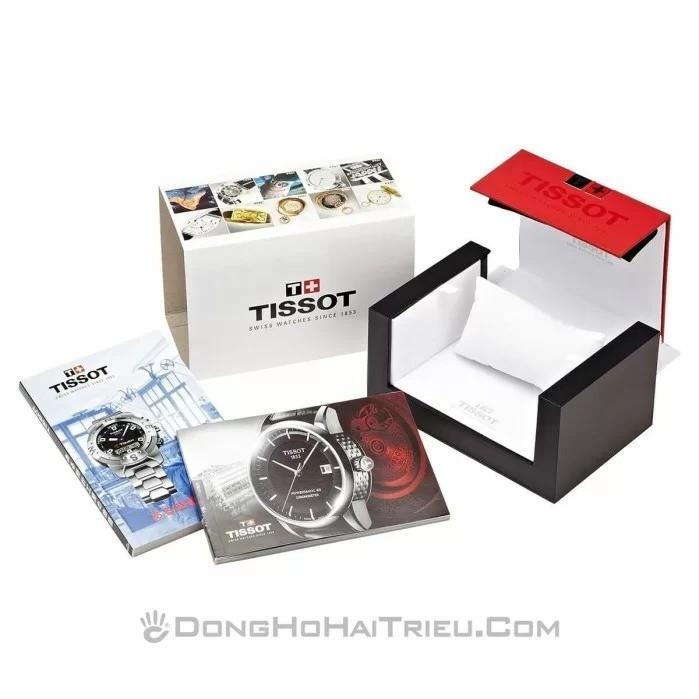 Đồng hồ Tissot T099.407.22.038.02 like new, cam kết zin 100%, tình trạng bị trầy xước dây, Full bảo hành & phụ kiện đi kèm 2