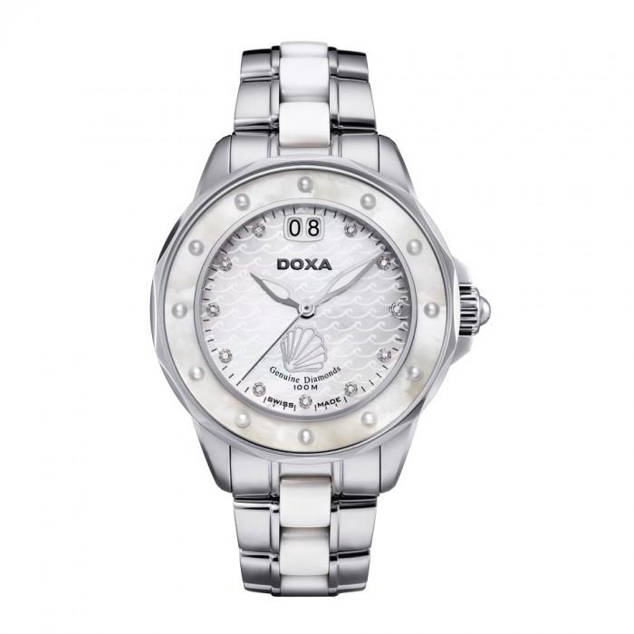 Đồng hồ Doxa D151SMW Kính Sapphire 1