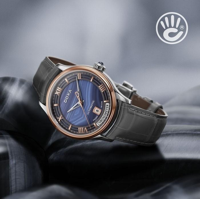 Đồng hồ Doxa D198RAG Kính Sapphire, Bộ Máy Cơ (Automatic) 3