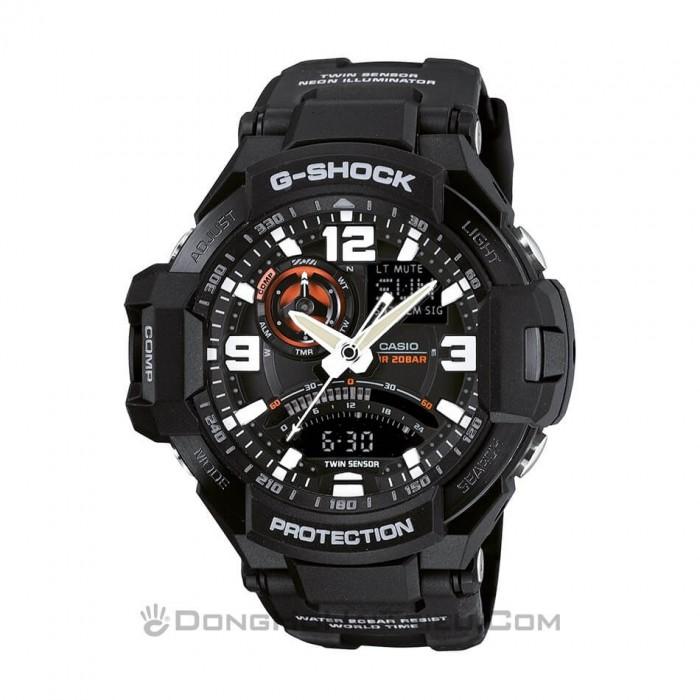 Đồng hồ G-Shock Baby-G GA-1000-1ADR, Dạ Quang, La Bàn, World Time 1