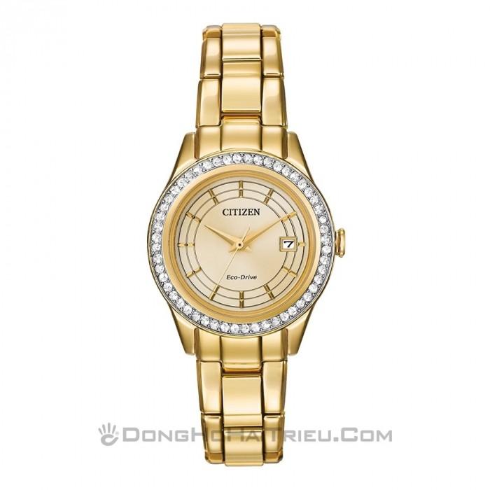 Đồng hồ Citizen FE1122-88P, Bộ Máy Năng Lượng Ánh Sáng, Siêu Mỏng 1