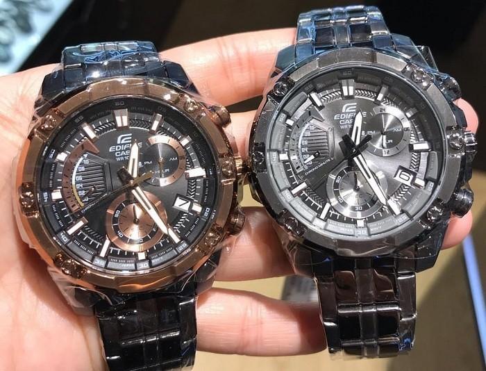 Đồng hồ nam Casio EFR-559GY-1AVUDF phiên bản dây kim loại - Ảnh 2