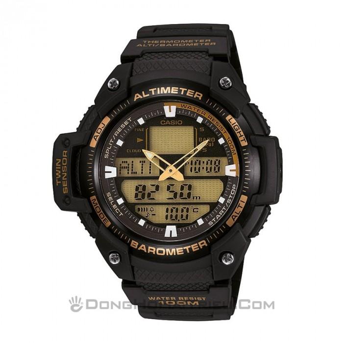 Đồng hồ Casio SGW-400H-1B2VDR Kính Nhựa 1