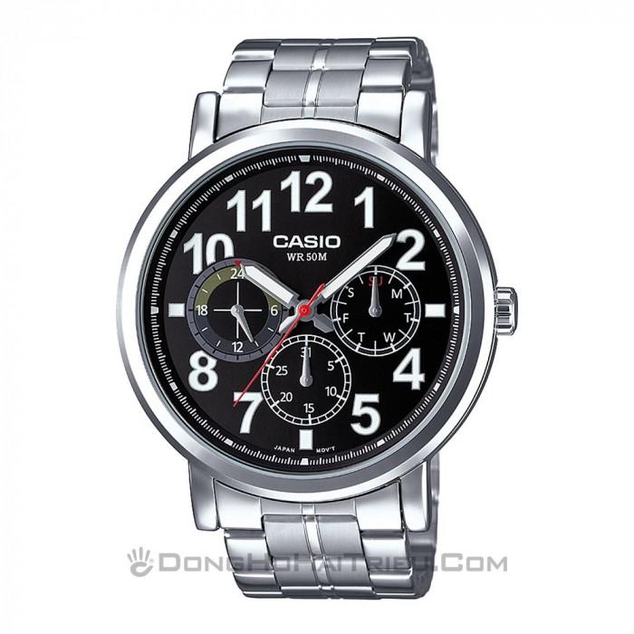 Đồng hồ Casio MTP-E309D-1AVDF, Dạ Quang 1