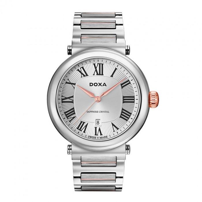 Đồng hồ Doxa D185RSV Kính Sapphire 1