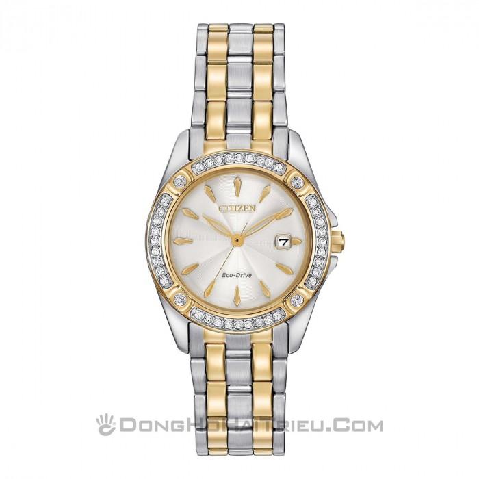 Đồng hồ Citizen EW2354-53P Kính Sapphire, Bộ Máy Năng Lượng Ánh Sáng 1