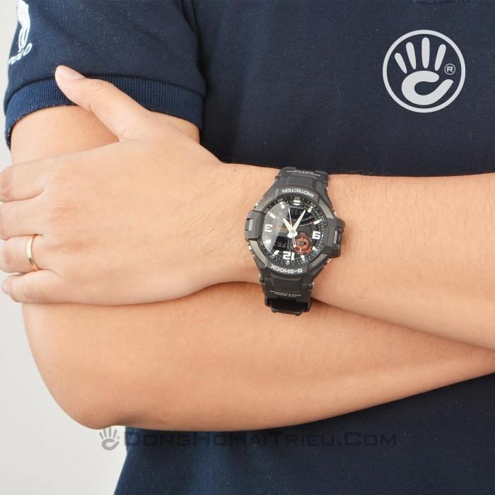 Đồng hồ G-Shock Baby-G GA-1000-1ADR, Dạ Quang, La Bàn, World Time 7