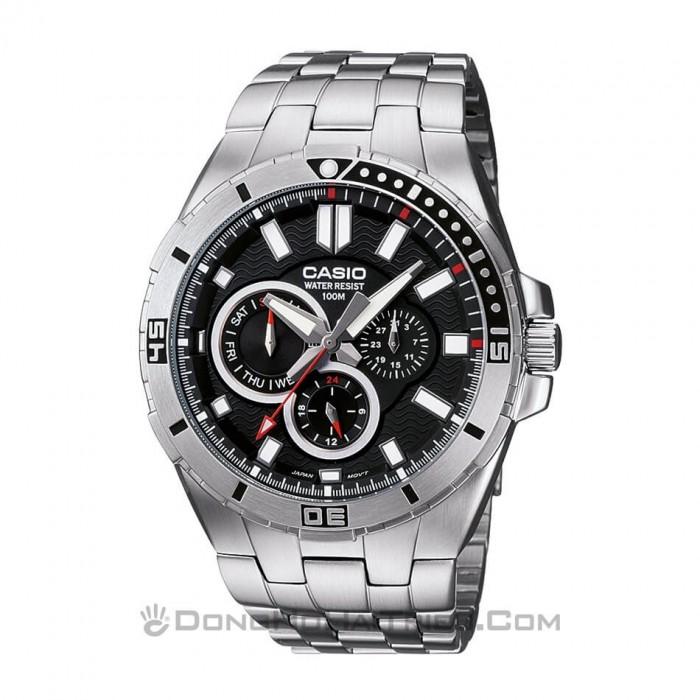 Đồng hồ Casio MTD-1060D-1AVDF, Dạ Quang 1