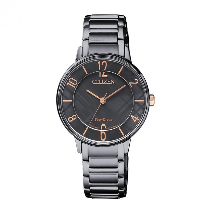 Đồng hồ Citizen EM0528-82H, Bộ Máy Năng Lượng Ánh Sáng 1