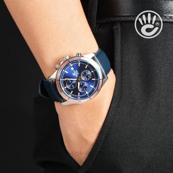 Đồng hồ CASIO EFR-526L-2AVUDF hãng mới, cam kết zin 100%, đồng hồ đã thay kim, đầy đủ bảo hành và phụ kiện 2