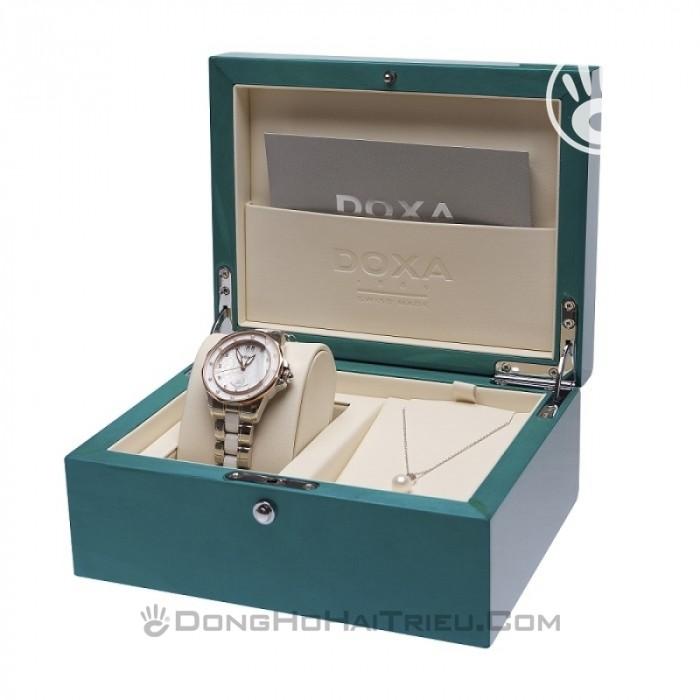 Đồng hồ Doxa D151SMW Kính Sapphire 7