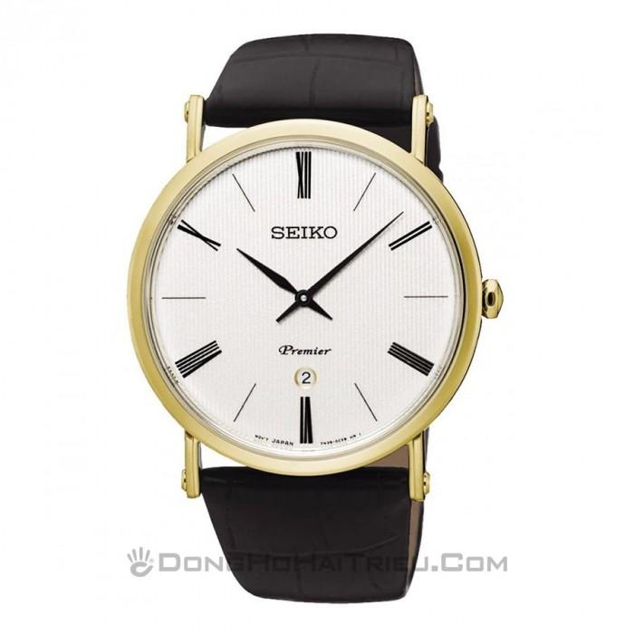 Đồng hồ Seiko SKP396P1 Kính Sapphire, Siêu Mỏng 1