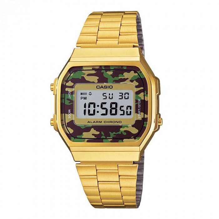 Đồng hồ Casio A168WEGC-3DF Kính Nhựa 1