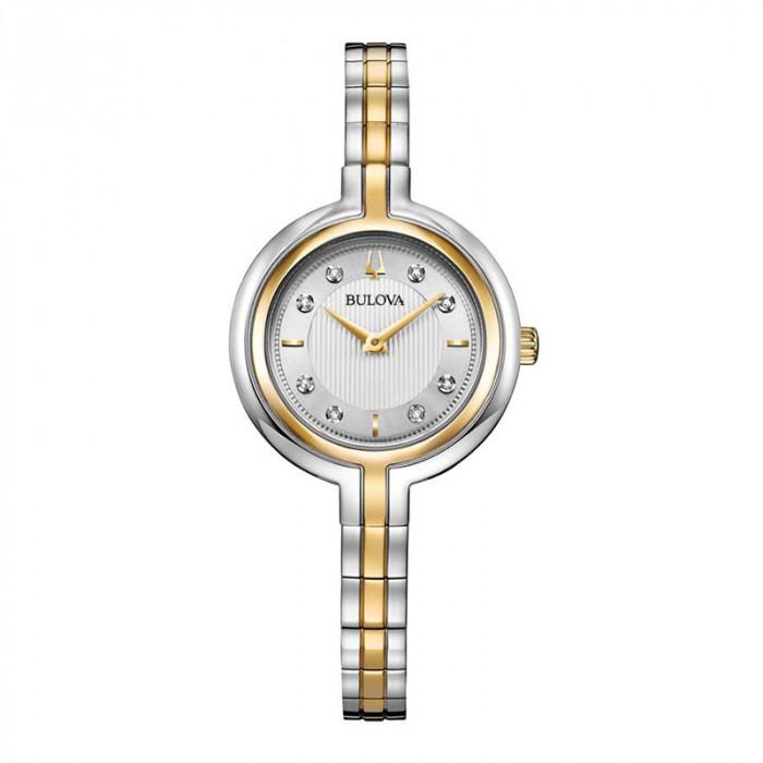 Đồng hồ Bulova 98P193, Đính Kim Cương, Siêu Mỏng 1