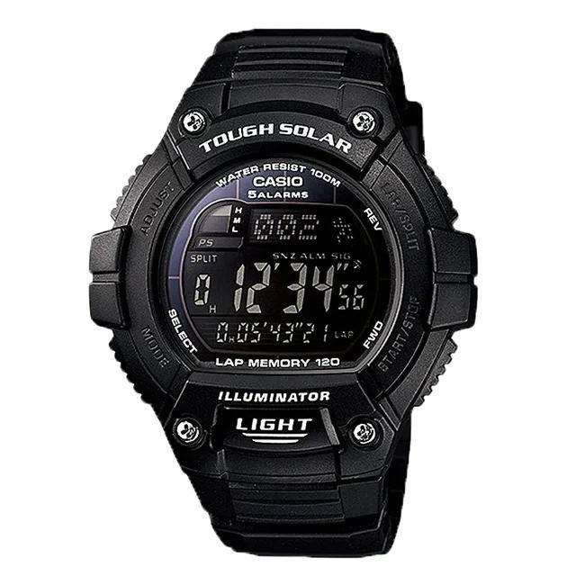 Đồng hồ Casio W-S220-1BVDF cam kết zin 100%, hàng mới nhưng bị trầy kính, full bảo hành và phụ kiện 1
