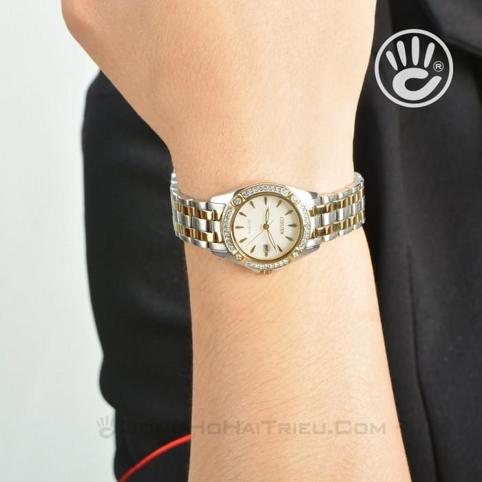 Đồng hồ Citizen EW2354-53P Kính Sapphire, Bộ Máy Năng Lượng Ánh Sáng 6