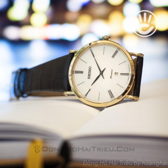 Đồng hồ Seiko SKP396P1 Kính Sapphire, Siêu Mỏng 7