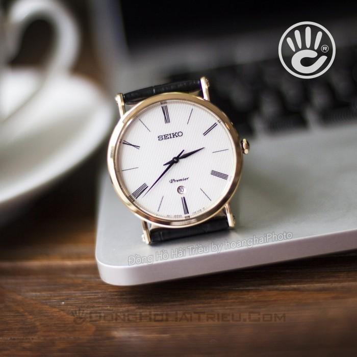 Đồng hồ Seiko SKP396P1 Kính Sapphire, Siêu Mỏng 8