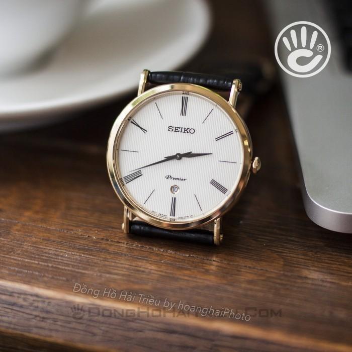 Đồng hồ Seiko SKP396P1 Kính Sapphire, Siêu Mỏng 9