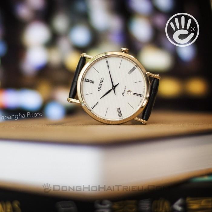 Đồng hồ Seiko SKP396P1 Kính Sapphire, Siêu Mỏng 10