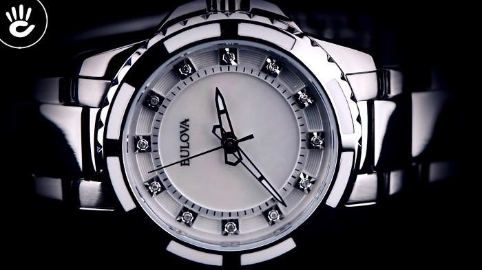 Đồng hồ Bulova 96P144: Phiên bản đính 12 viên kim cương-1