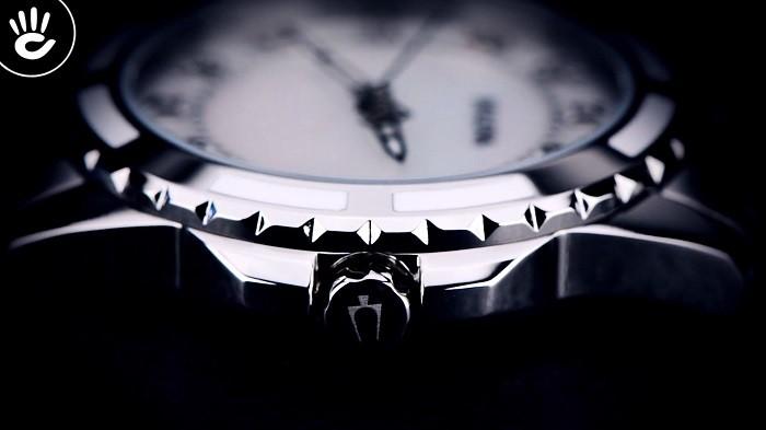 Đồng hồ Bulova 96P144: Phiên bản đính 12 viên kim cương-4