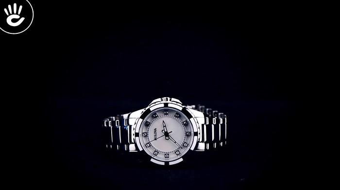 Đồng hồ Bulova 96P144: Phiên bản đính 12 viên kim cương-5