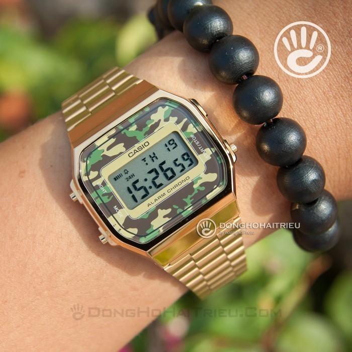 Đồng hồ Casio A168WEGC-3DF Kính Nhựa 2