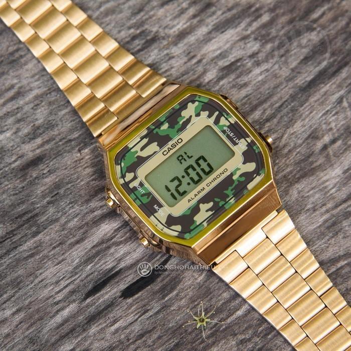 Đồng hồ Casio A168WEGC-3DF Kính Nhựa 4