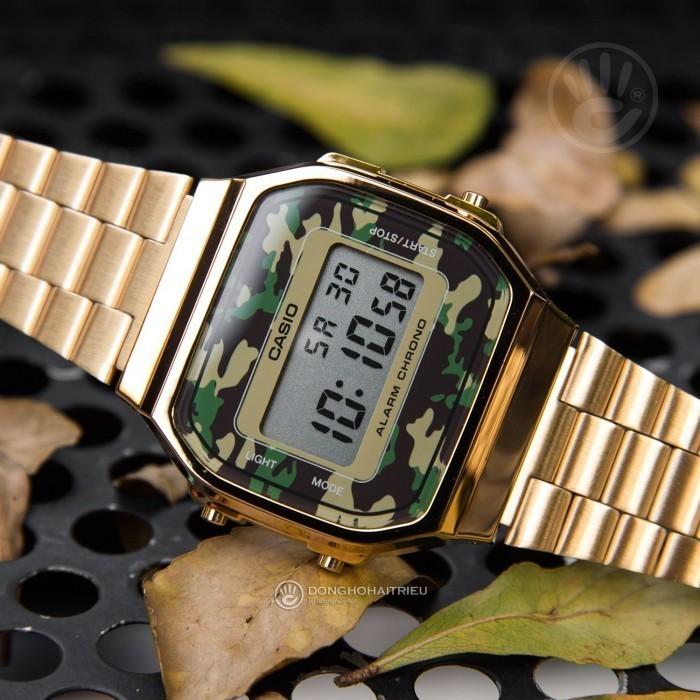 Đồng hồ Casio A168WEGC-3DF Kính Nhựa 3