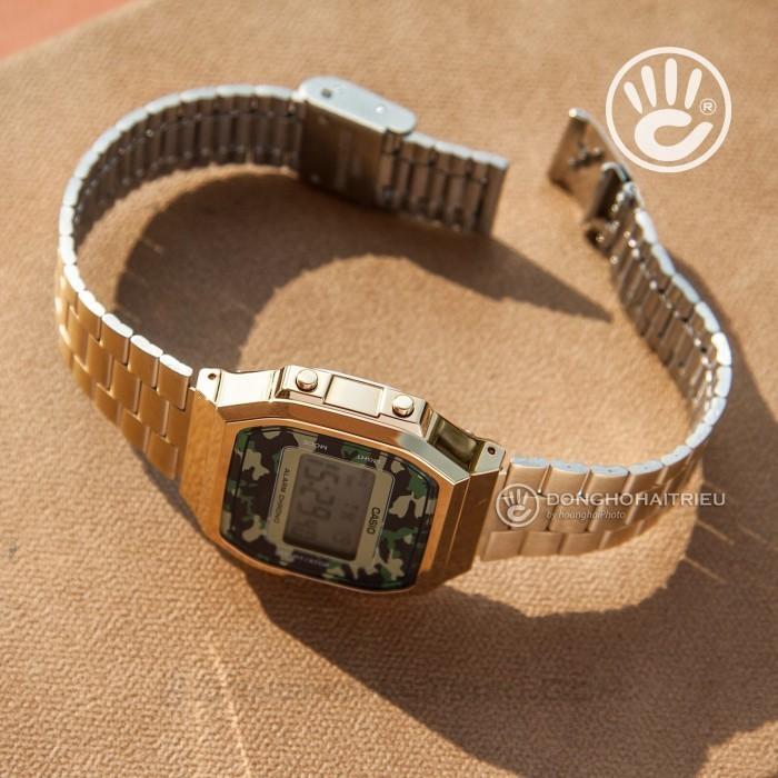 Đồng hồ Casio A168WEGC-3DF Kính Nhựa 6