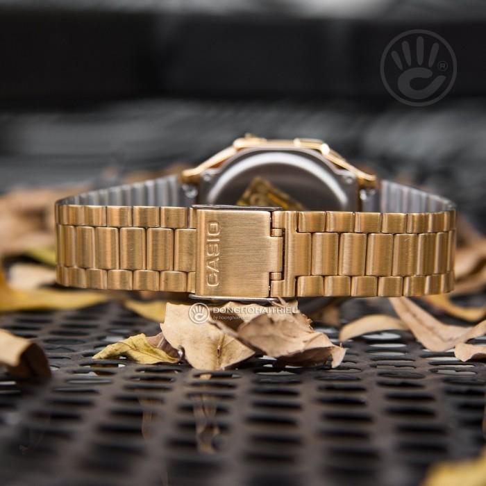 Đồng hồ Casio A168WEGC-3DF Kính Nhựa 7