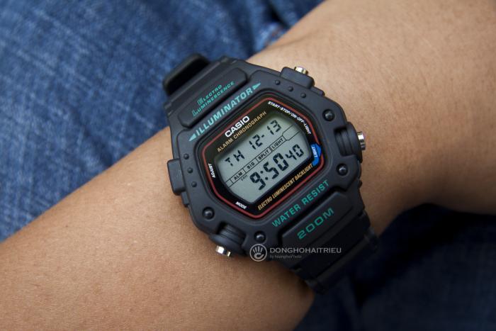 Đồng hồ Casio DW-290-1VS hàng mới 100%, cam kết chính hãng, bị phai chữ ở viền, còn full bảo hành và phụ kiện 2