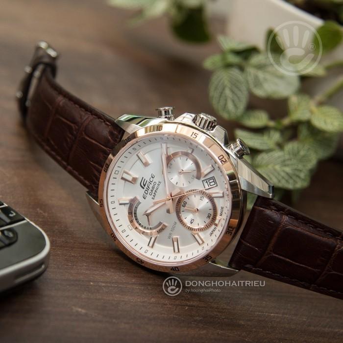Đồng hồ Casio EFB-510JBL-7AVDR Kính Sapphire, Chronograph, Dạ Quang 2
