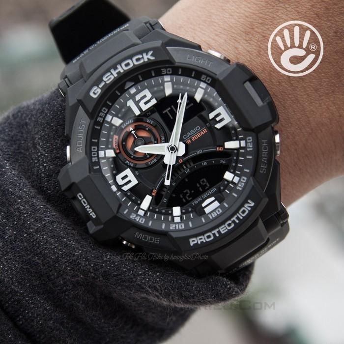 Đồng hồ G-Shock Baby-G GA-1000-1ADR, Dạ Quang, La Bàn, World Time 2
