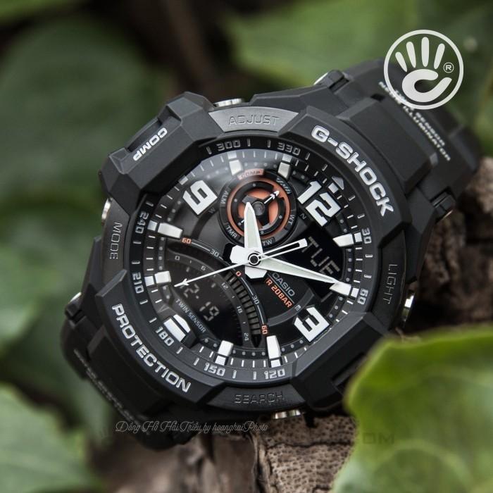 Đồng hồ G-Shock Baby-G GA-1000-1ADR, Dạ Quang, La Bàn, World Time 3