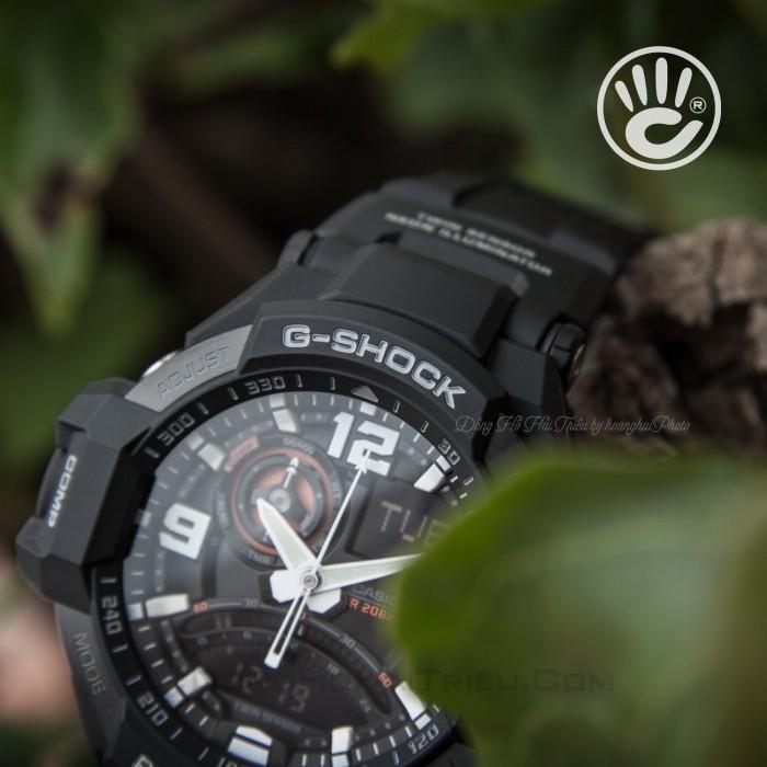 Đồng hồ G-Shock Baby-G GA-1000-1ADR, Dạ Quang, La Bàn, World Time 4